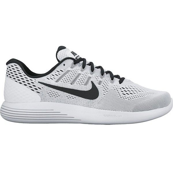 Nike LunarGlide 8 Womens Running Shoes WhiteBlack