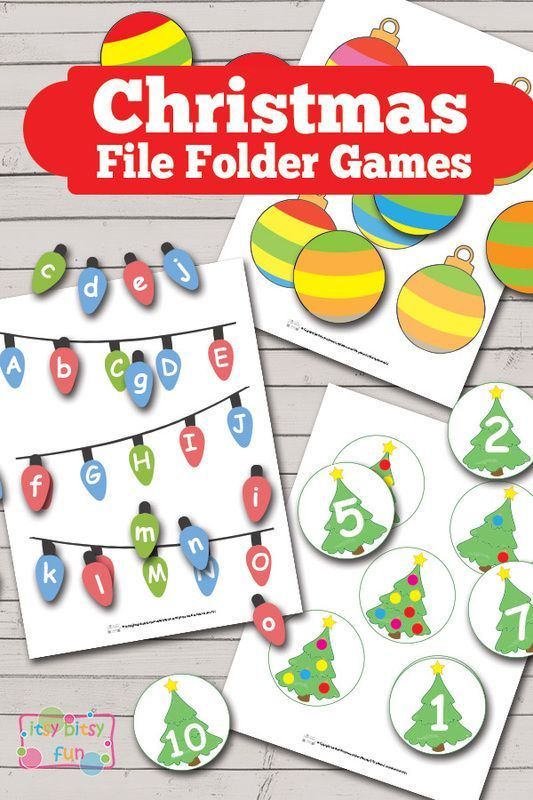 christmas file folder games free printable lots of free games to download ready