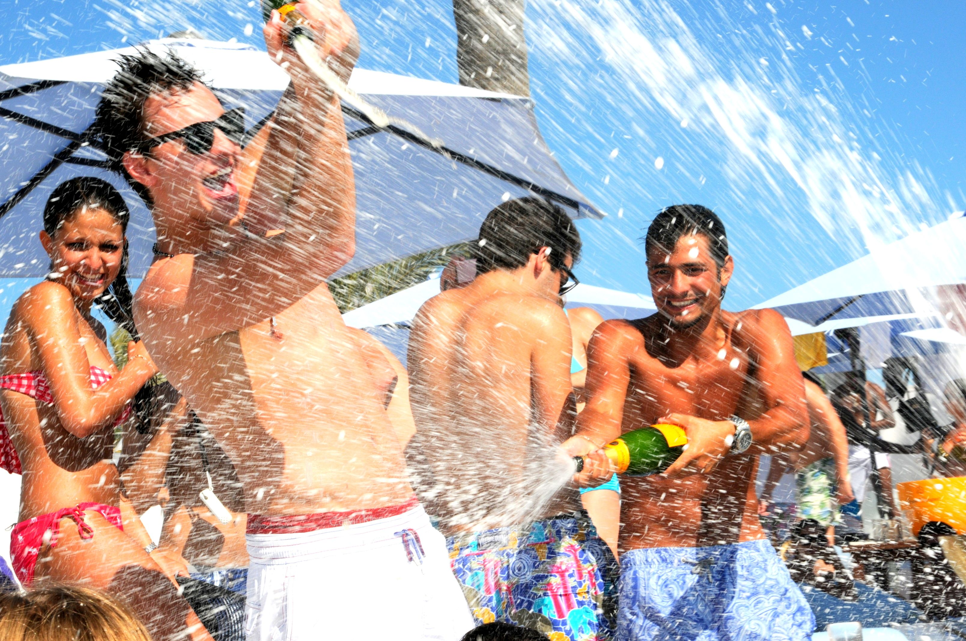 98f3fe6892 WJT Packages - Champagne spray parties! | Wild Youth | Shower party ...