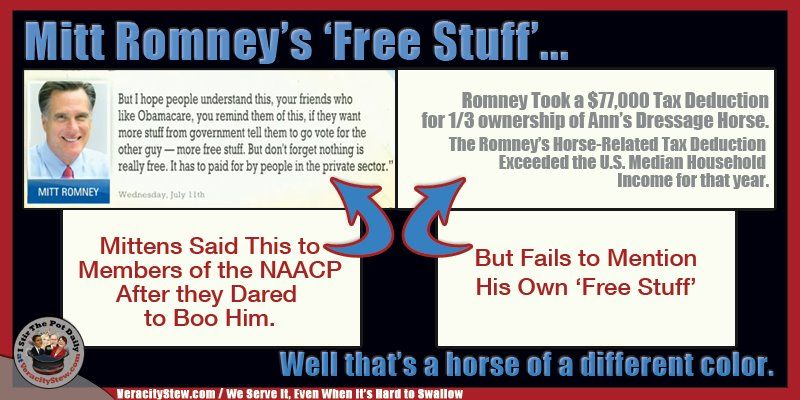 Romney's 'free stuff'