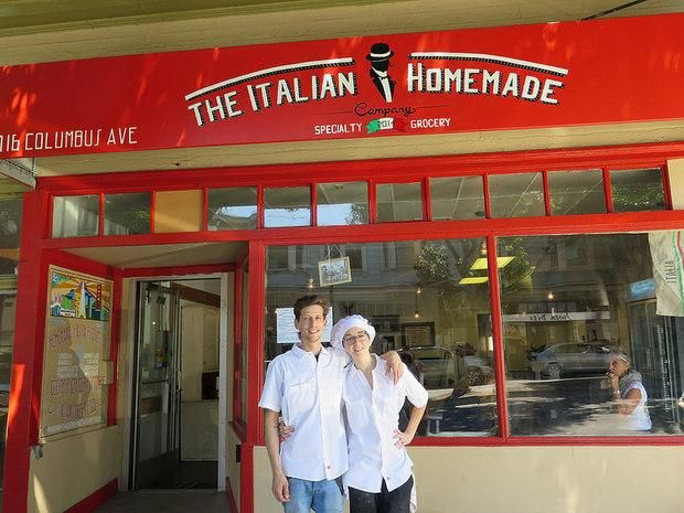 San Francisco S North Beach Is The Proud Home Of Italian Homemade Company One Best Restaurants In