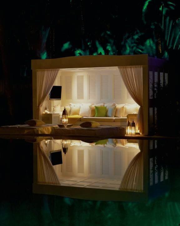 Cabana by The Delano pool (Miami)