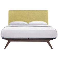 Tracy Queen Upholstered Platform Bed