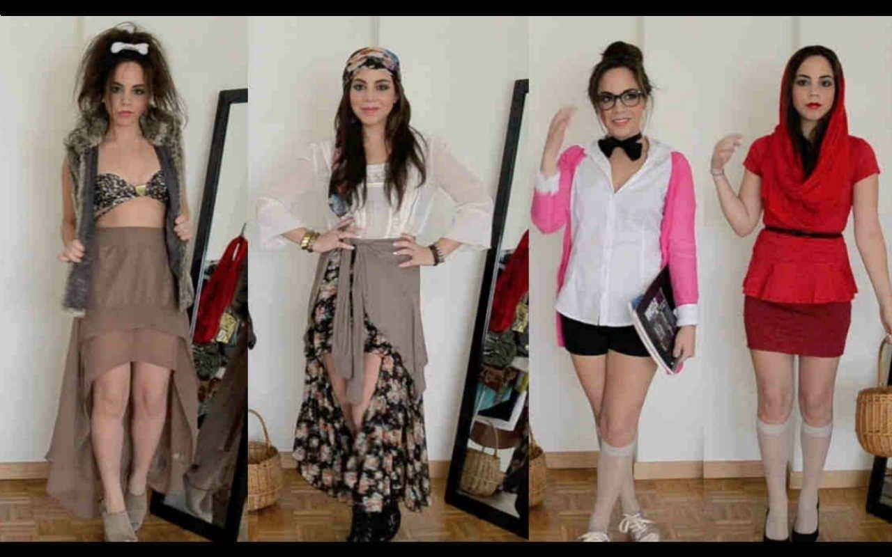 4 Disfraces Con Ropa De Tu Closet Disfraces Ropa Halloween Disfraces