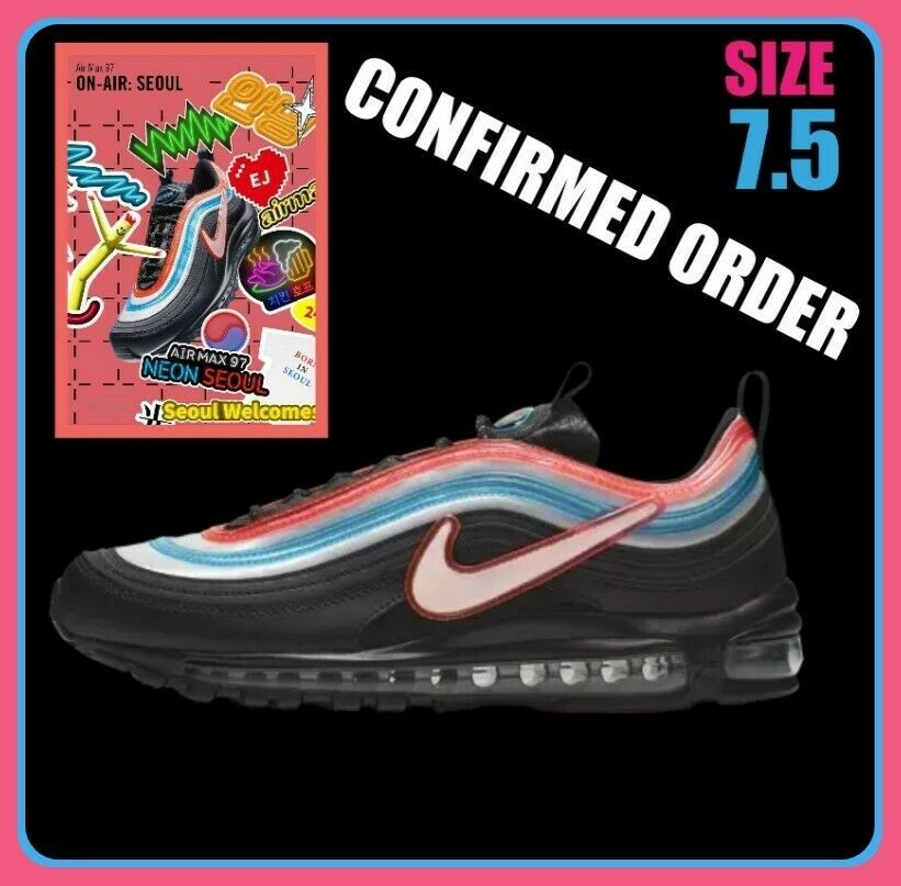 147f1c727e268 New Nike Air Max 97 Neon Seoul On Air Gwang Shin Size 7.5 Mens (9 ...