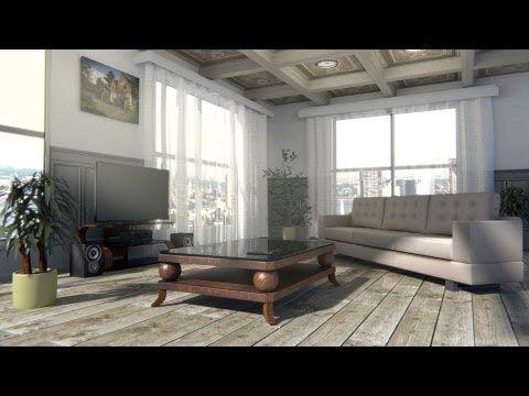 Create A Interior Scene In Blender Cycles Youtube Blender