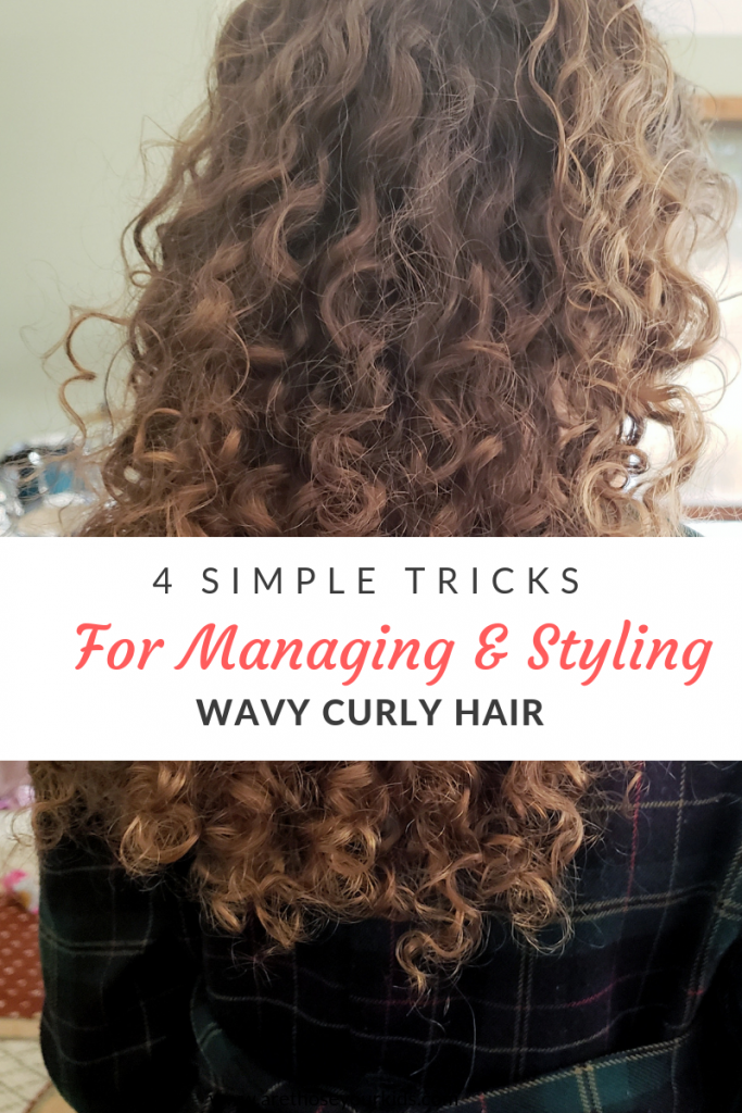 4 Simple Tricks For Managing Styling Wavy Curly Hair