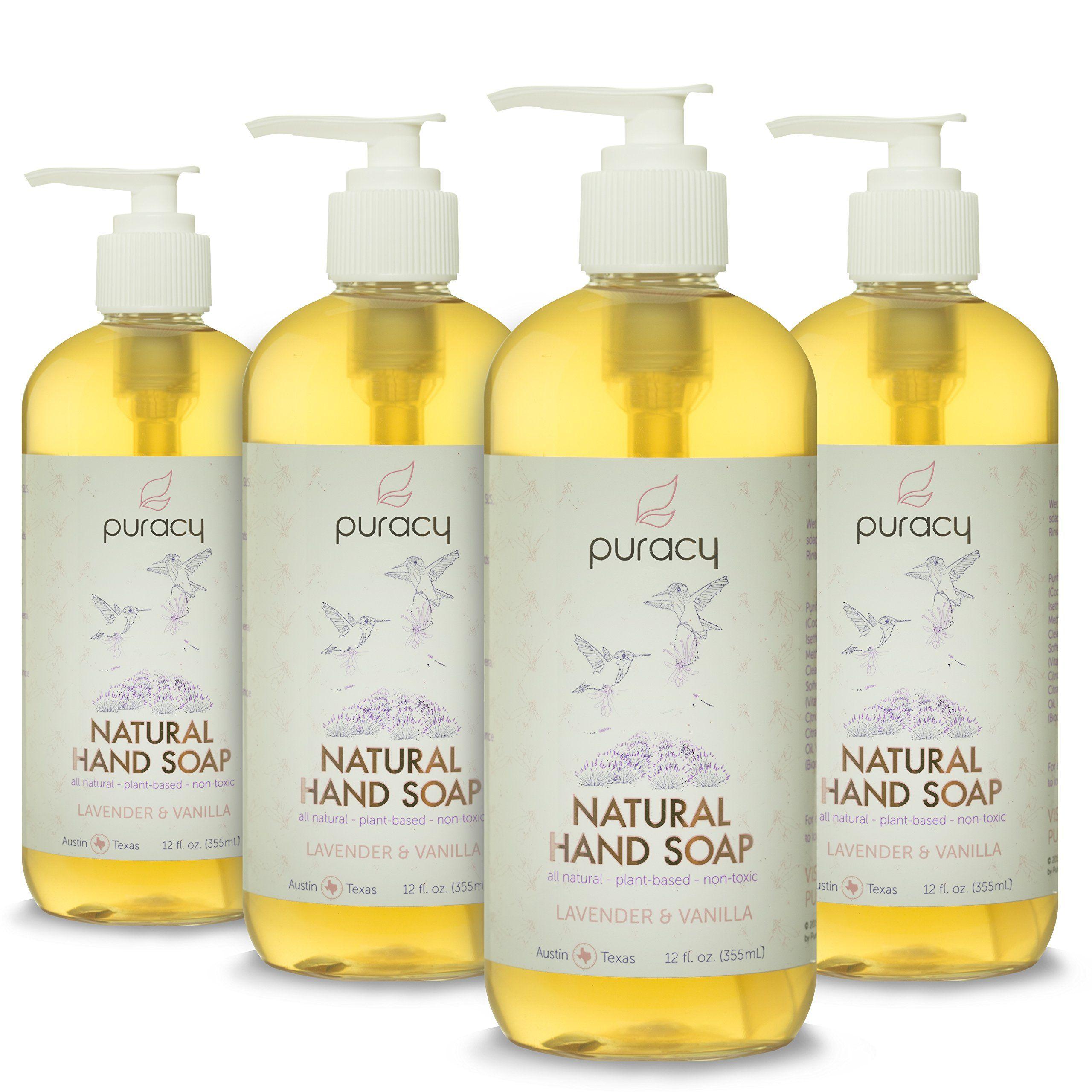 Puracy 100 Natural Liquid Hand Soap Liquid Hand Soap Vanilla