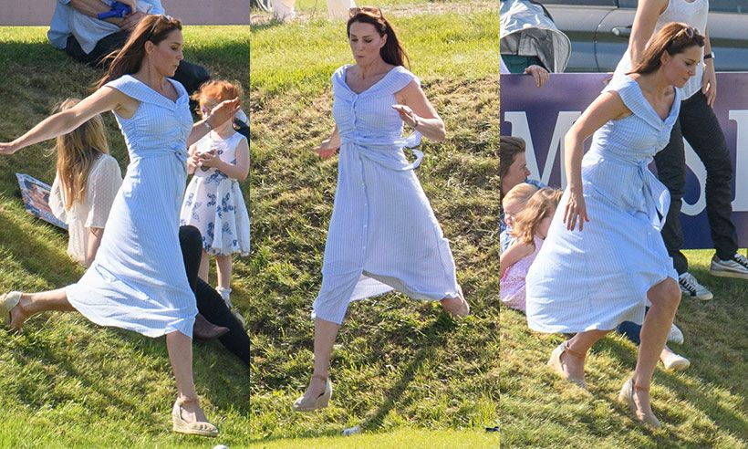 8d9b4d80d9a Kate Middleton reveals incredible post-baby body in £39.99 Zara summer dress