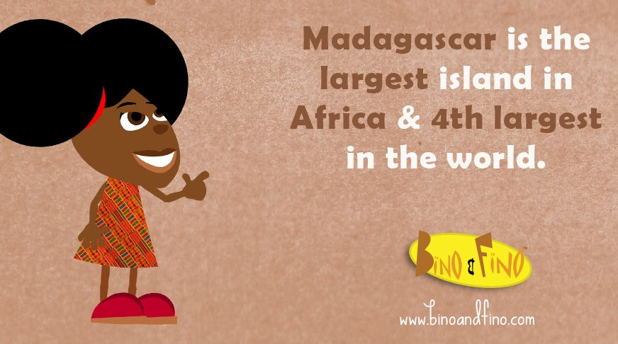 Madagascar Is The Largest Island In Africa Facts Kids