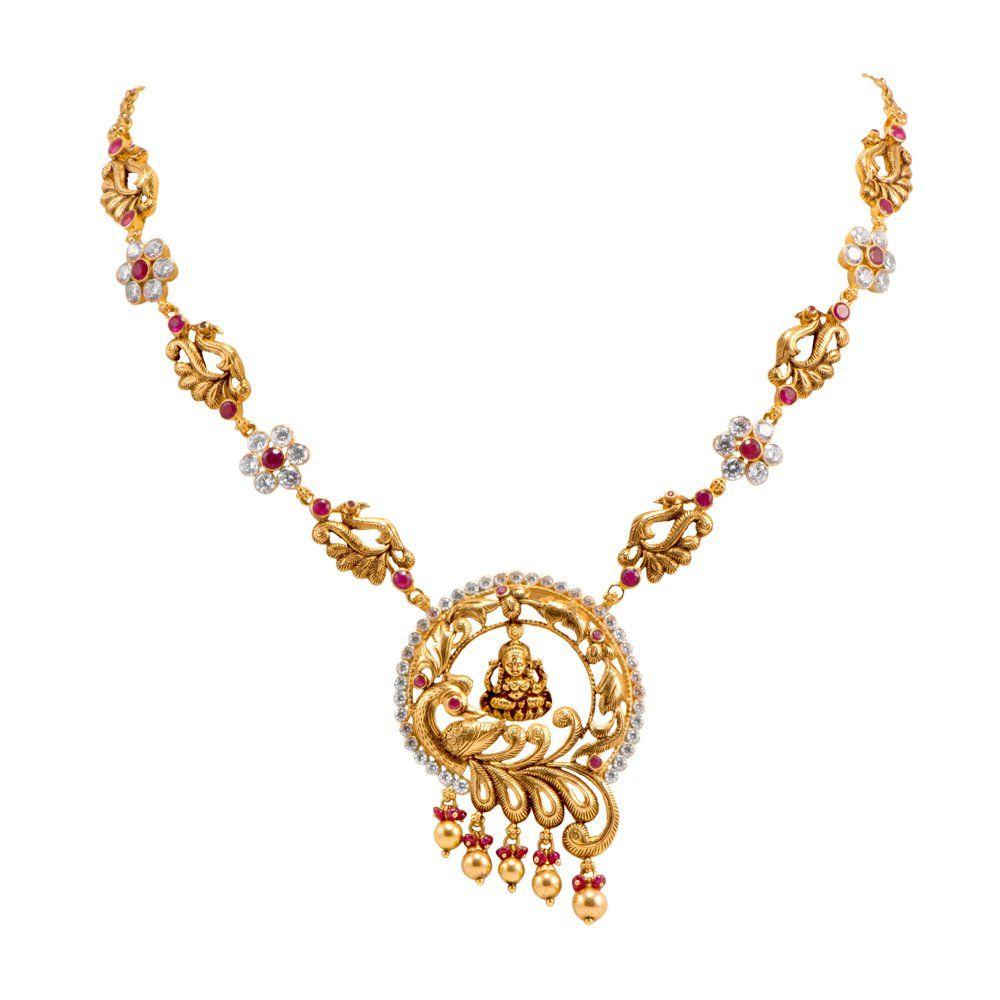 Joyalukkas Apoorva Collection 22k Oxidized Gold Chain Necklace ...