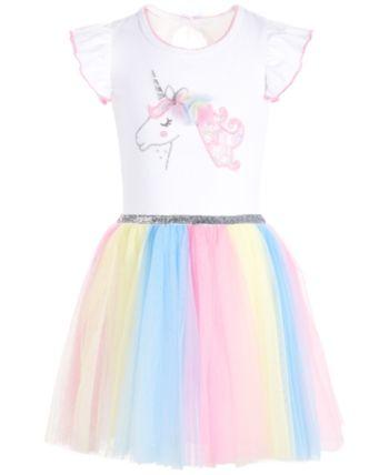 7e99db8a1135 Bonnie Jean Toddler Girls Rainbow Unicorn Dress in 2019 | Products ...
