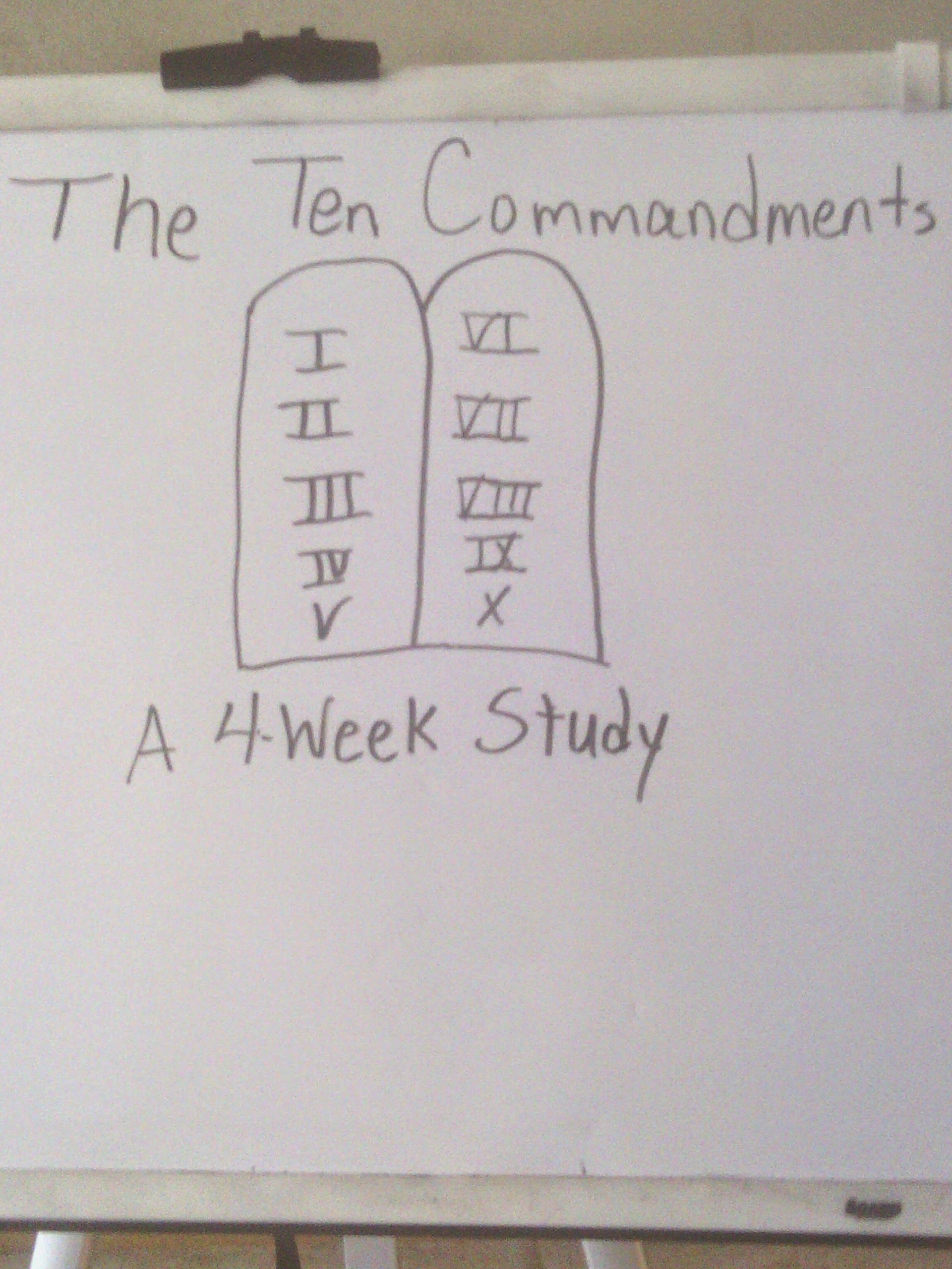 How To Teach Your Child The 10 Commandments With Images