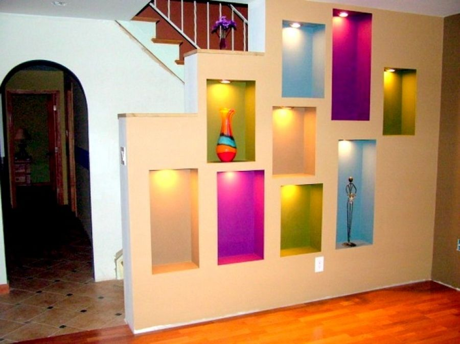 15+ Ways To Beautify Your Home With Illuminated Wall Niches - Page 3 ...