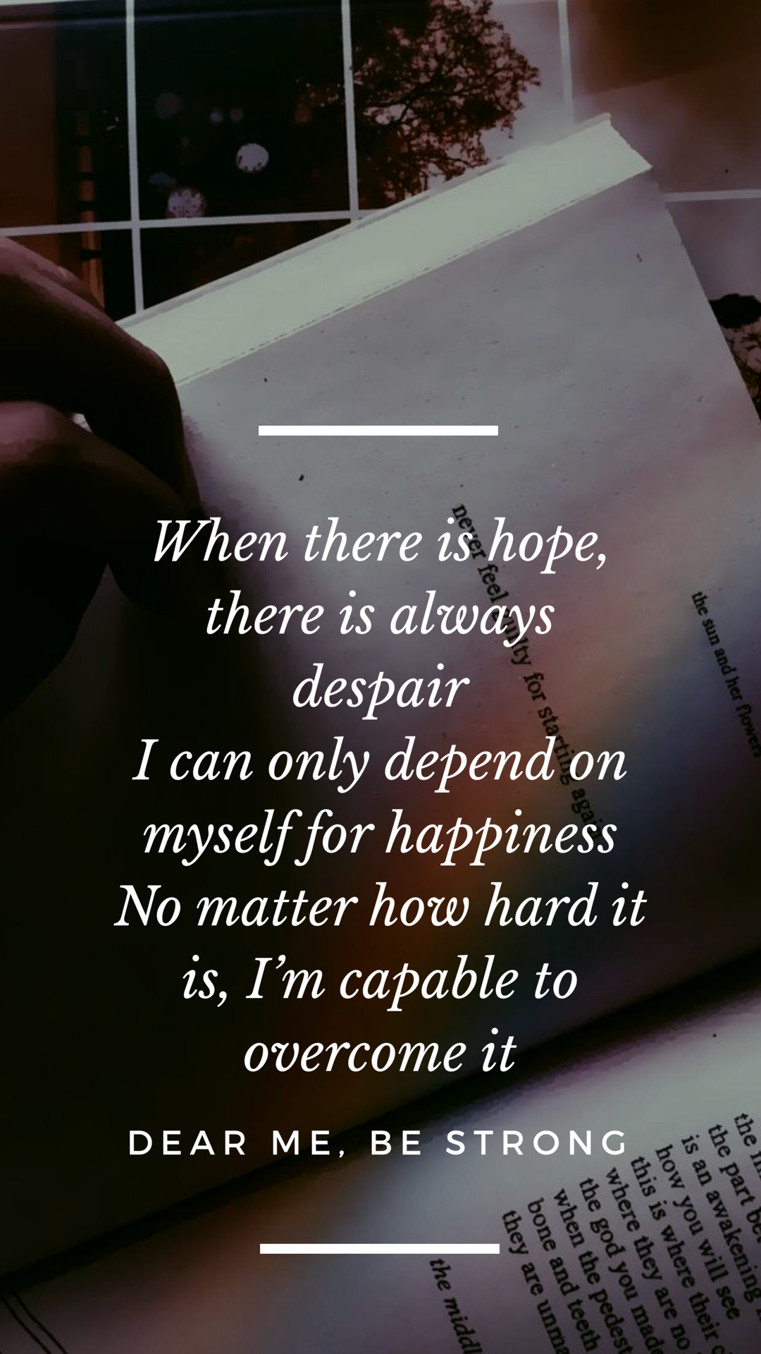 iphone wallpaper aesthetic quotes #bts #strong #sea | Quotes