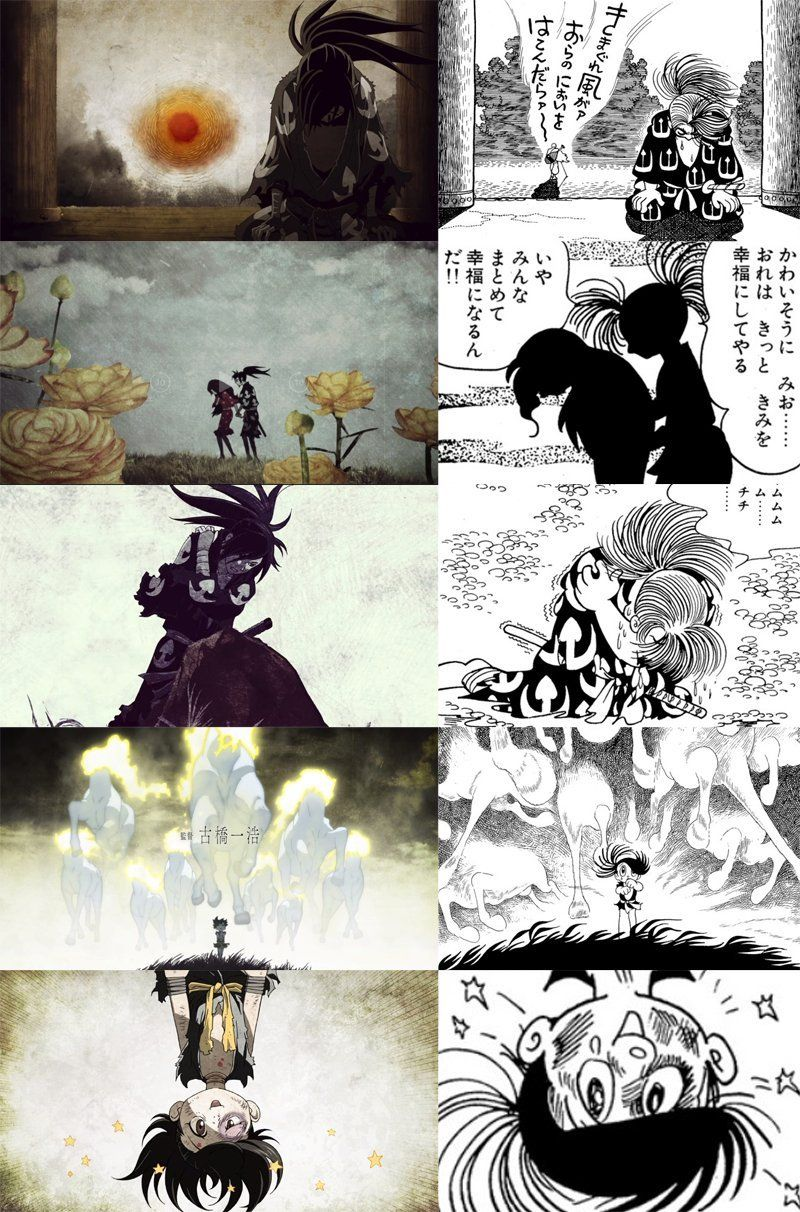 The animation studio kept to the source material while