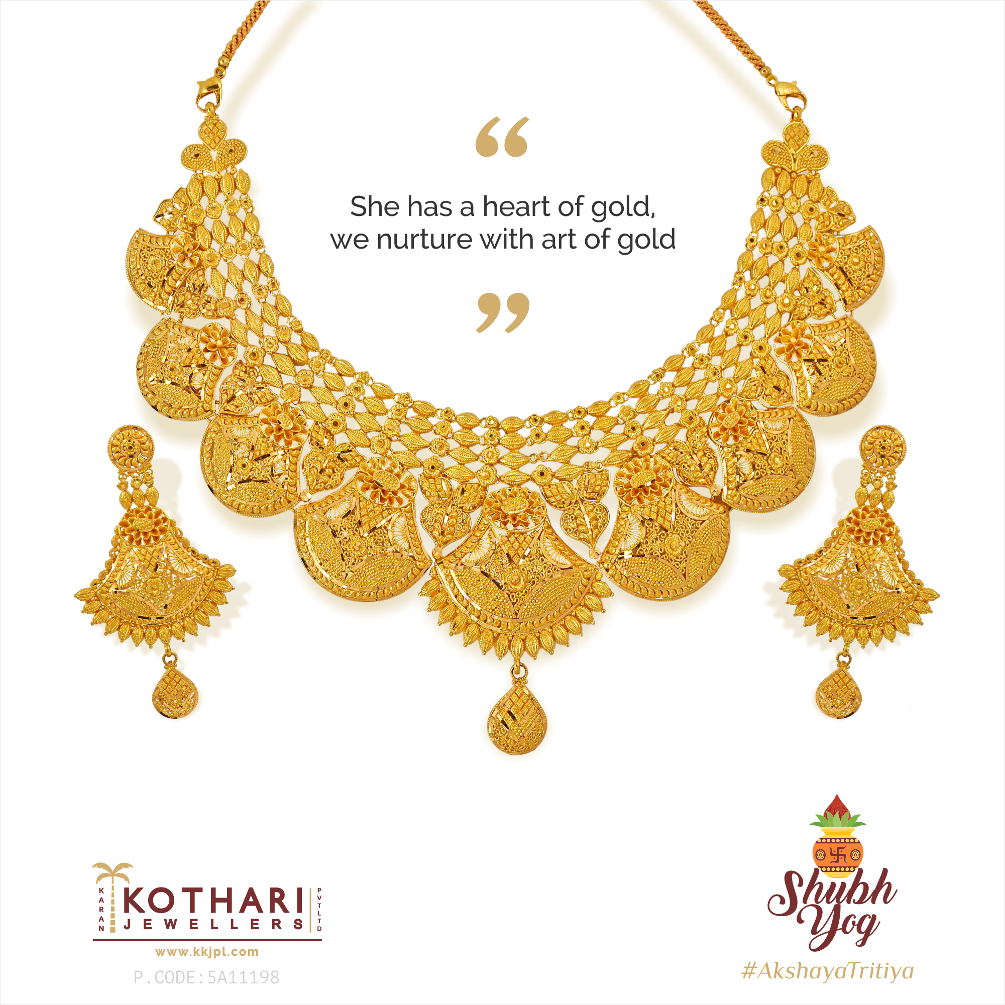 She Has A Heart Of Gold We Nurture With Art Of Gold