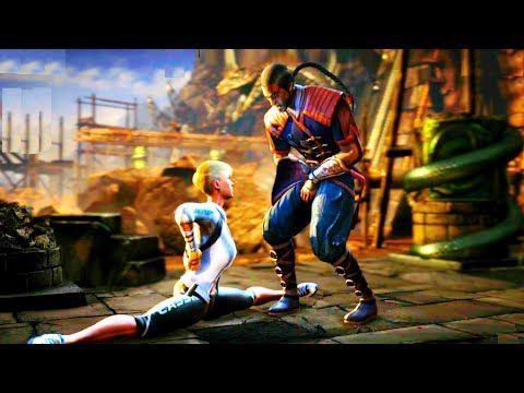 Mortal Kombat X Cassie Cage X Ray Crotch Punch W All Characters