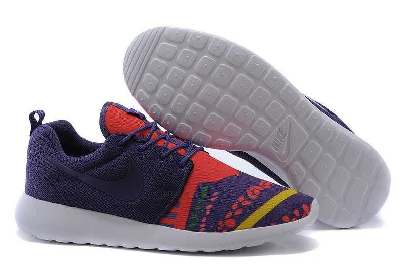 womens nike roshe run high red purple
