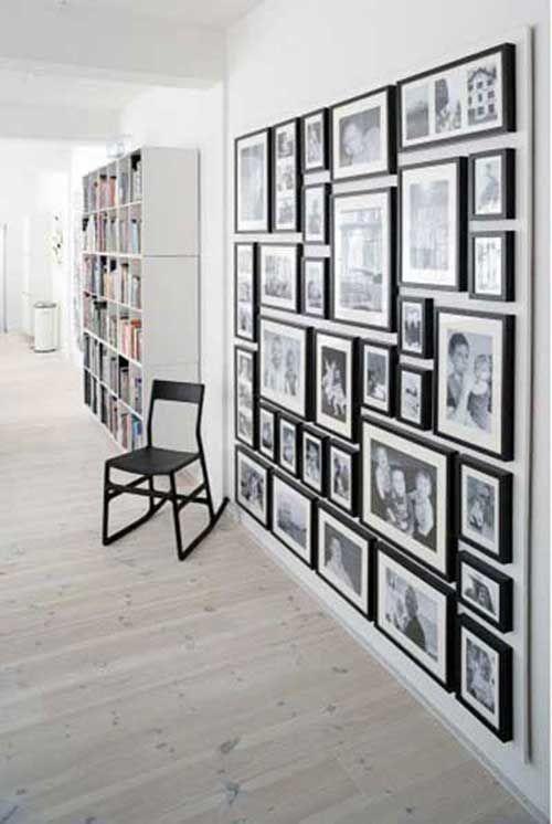 100 fotos e ideas para decorar las paredes con cuadros, marcos y fotografías. | Mil Ideas de Decoración