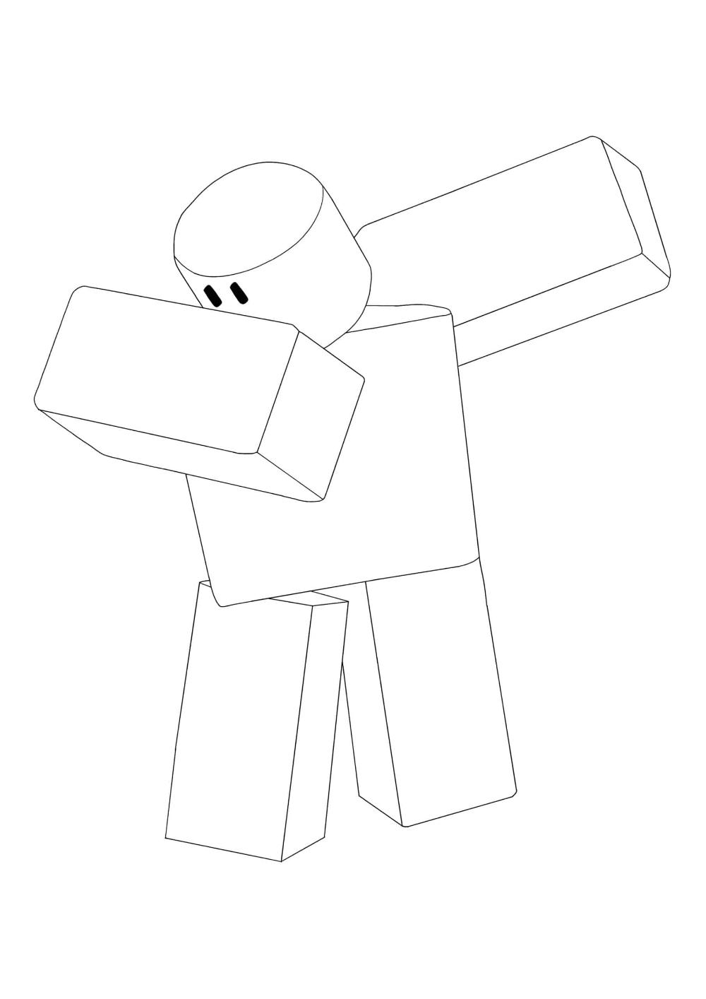 c4a4953dd82759b2e4205ca74d2d156b » Roblox Builderman Coloring Pages