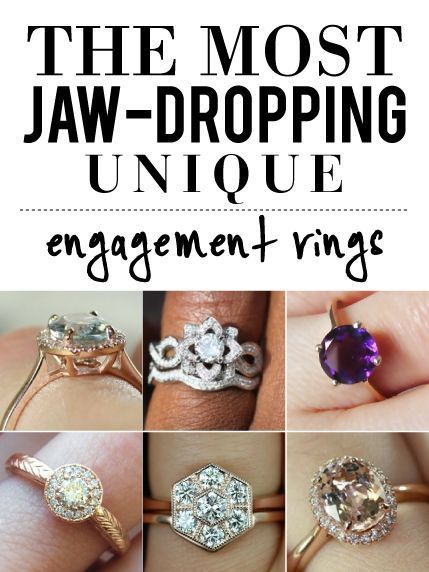 a719c7e77 Unique Engagement Rings | Life + Weddings + Tips + Advice ...