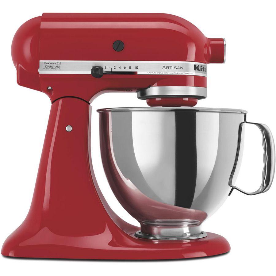 Shop Kitchenaid Artisan Series 5 Quart 10 Speed Empire Red
