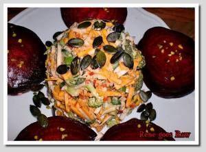 Blogparade: Rote Beete Ravioli mit knackigem Salat
