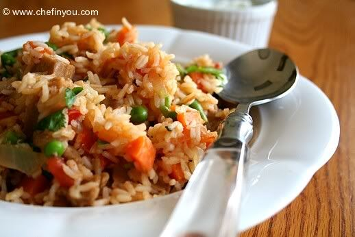 I believe anyone can fall in love with this the kitchen company this is a very healthy jollof rice recipe from west africa ghana nigeria and other places see pictures for each step how to make ccuart Choice Image