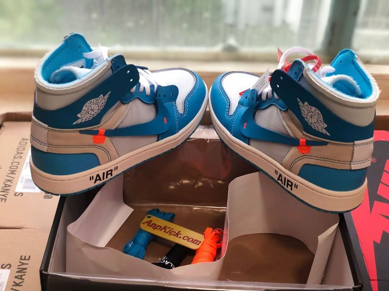 Off White X Air Jordan 1 Unc Ow Release For Sale Aq0818 148