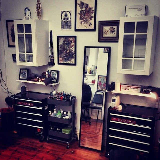 Deankalcoff S Instagram Posts Pinsta Me Instagram Online Viewer Tattoo Shop Decor Tattoo Shop Interior Tattoo Parlor Decor