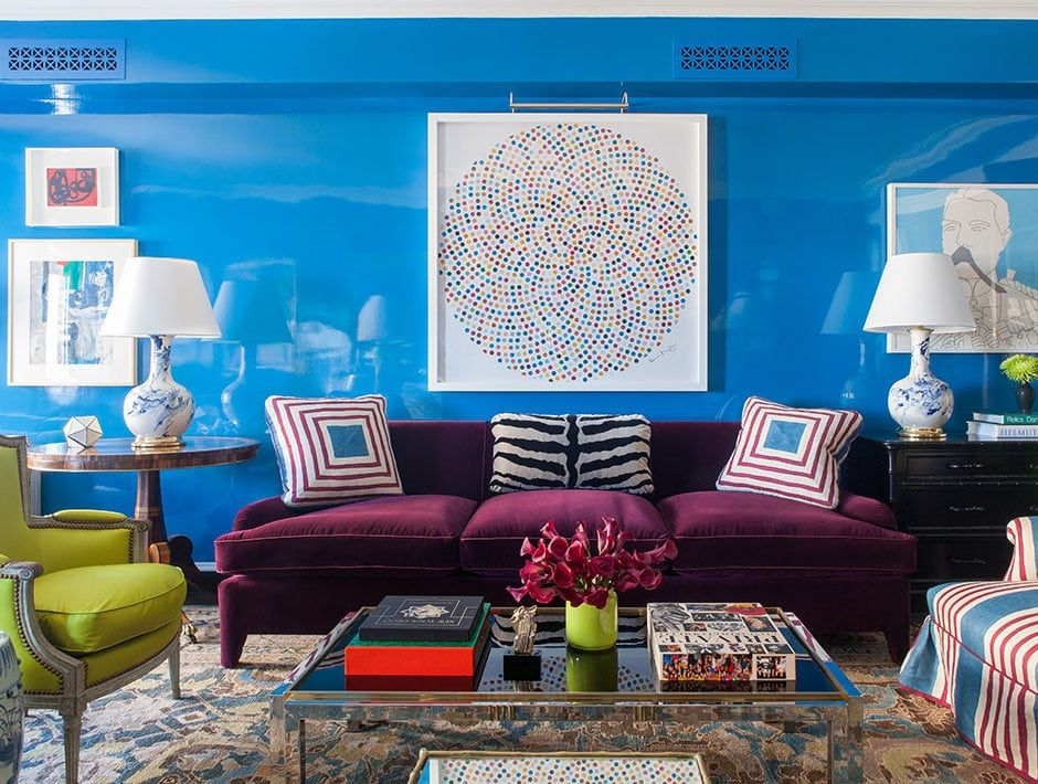 The Best Blue Paint Colors, According to Designers is part of Home Accessories Design Paint Colors - Top designers like Celerie Kemble and Nick Olsen reveal the best blue paint colors to choose for your walls  Prepare for a major rhapsody in blue moment