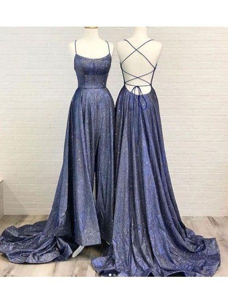 A-Line Sparkle Long Prom Dress Formal Evening Dresses 99501801