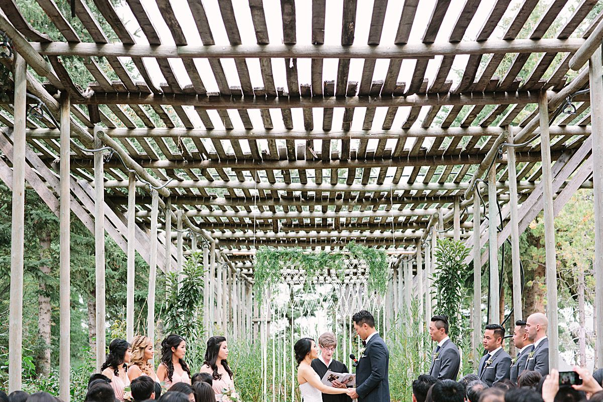 A Rustic And Romantic Wedding In Calgary | Romantic ...
