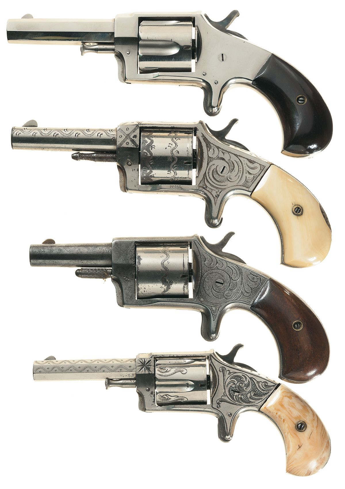 What is the manufacture date - Iver Johnson revolver serial