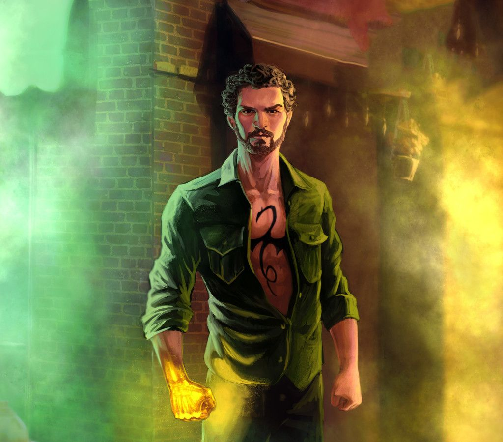 Iron Fist The Defenders Tv Series Artwork Wallpaper Iron Fist Iron Fist Netflix Iron Fist Dragon