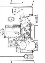 Kleurplaat Peppa Pig En Familie Inkleur Pinterest Peppa Pig