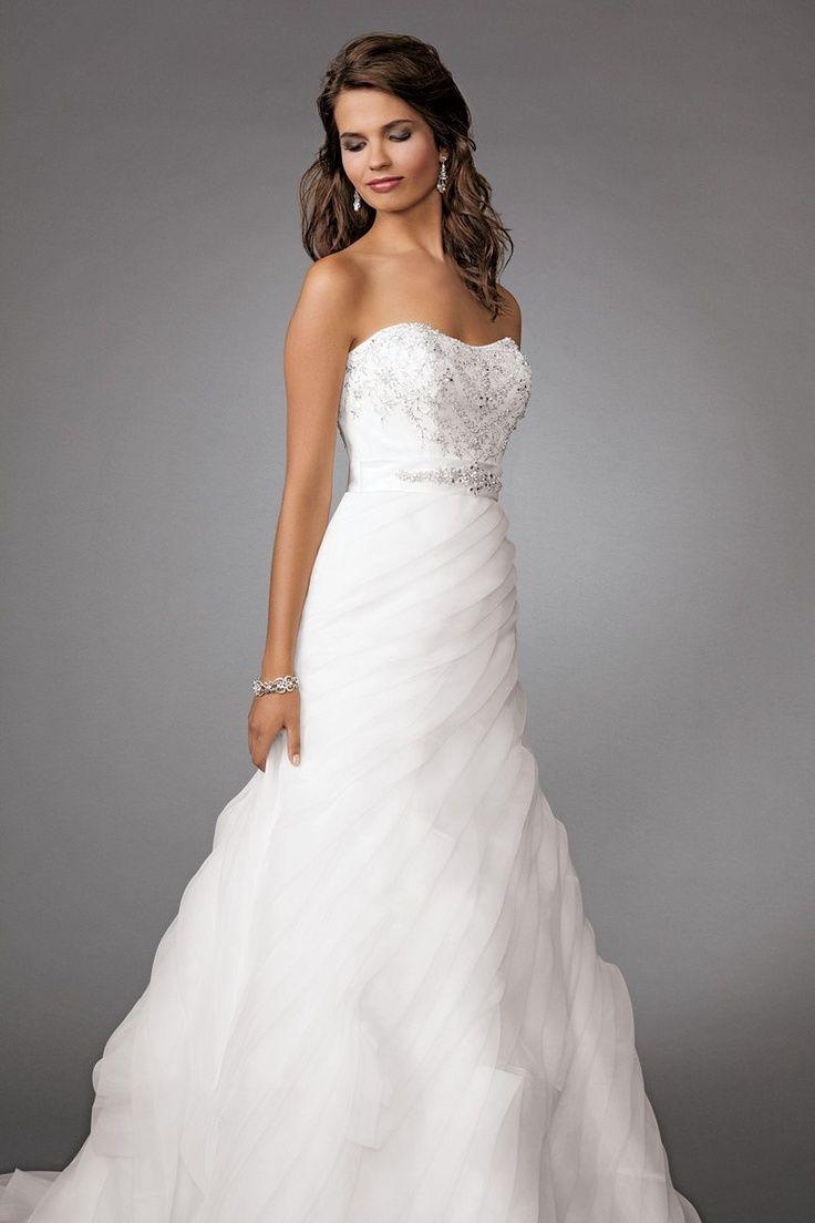 Jordan Fashions wedding dress. Strapless. | Wedding Dresses and ...