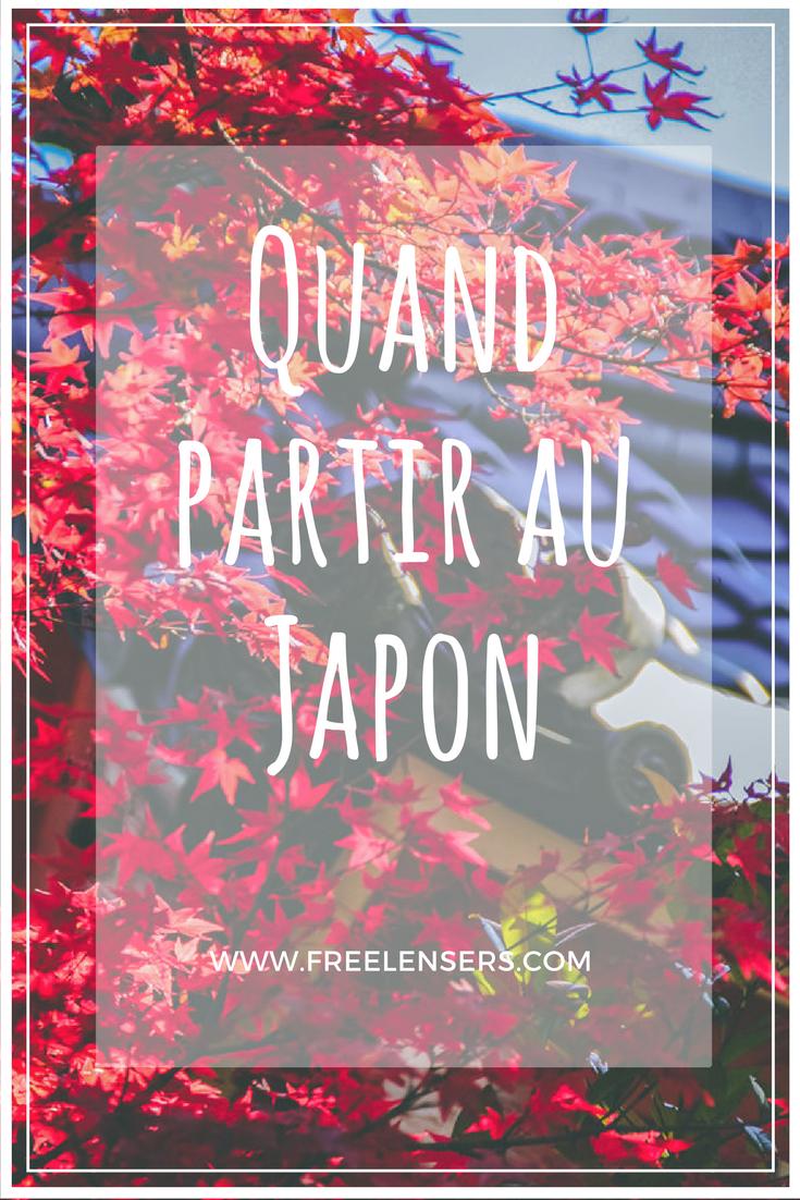 Quand partir au Japon ? #articlesblog