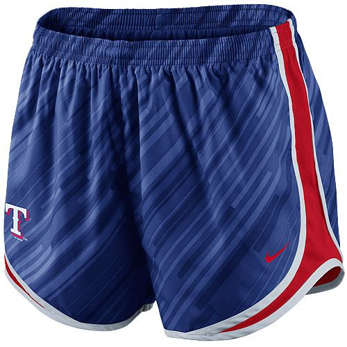 Texas Rangers Women's Dri-FIT Seasonal Tempo Shorts by Nike