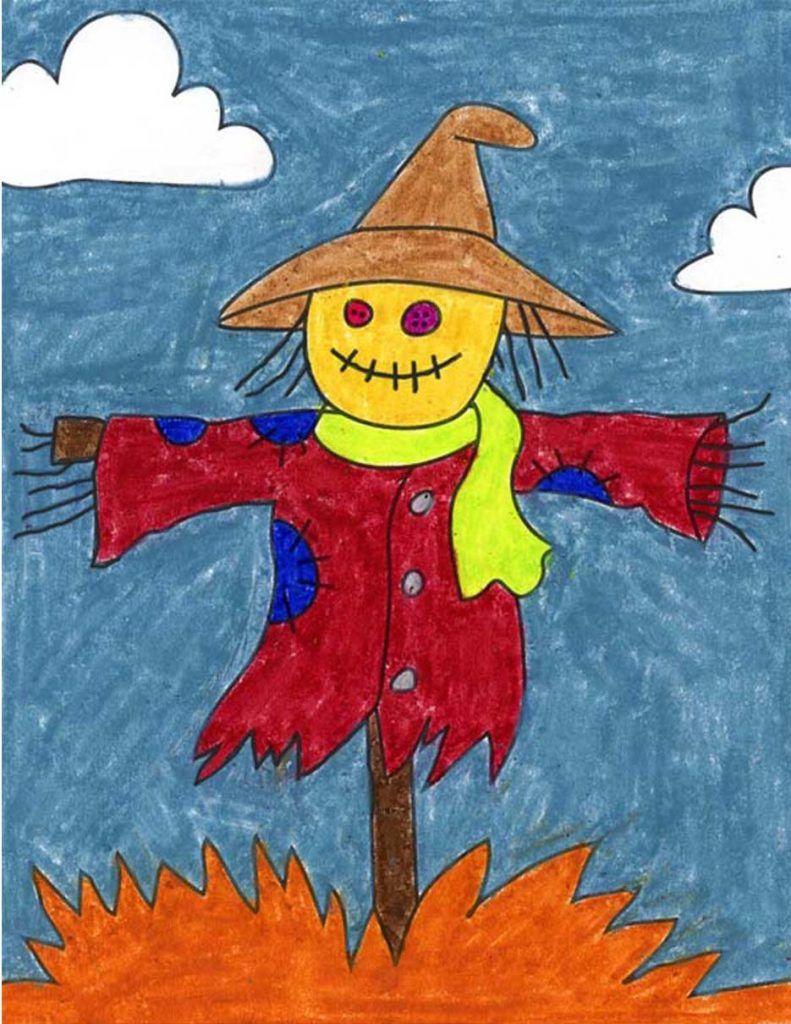 18++ Scarecrow art info