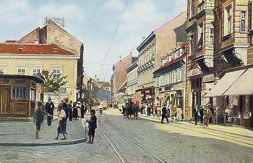 British Square In Zagreb Croatia In 1911 Zagreb Croatia Zagreb Croatia