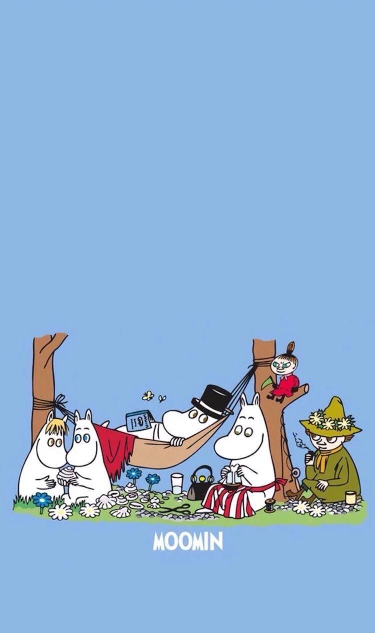 Moomin おしゃれまとめの人気アイデア Pinterest Sea St トーベ ヤンソン ムーミン 壁紙 ムーミン イラスト
