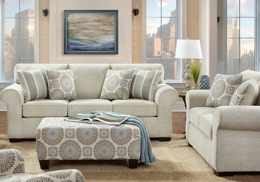 Charisma Linen Sofa Loveseat In 2019 Living Room Sets Loveseat