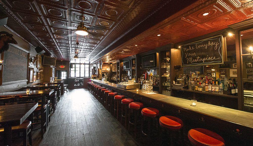 Hudson Malone, Doug Quinn\'s Tribute to Old NYC   Art deco bar ...