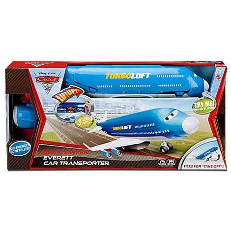 Cars 2 Everett Car Transporter Rc Vehicle Vehicles Rc Toys