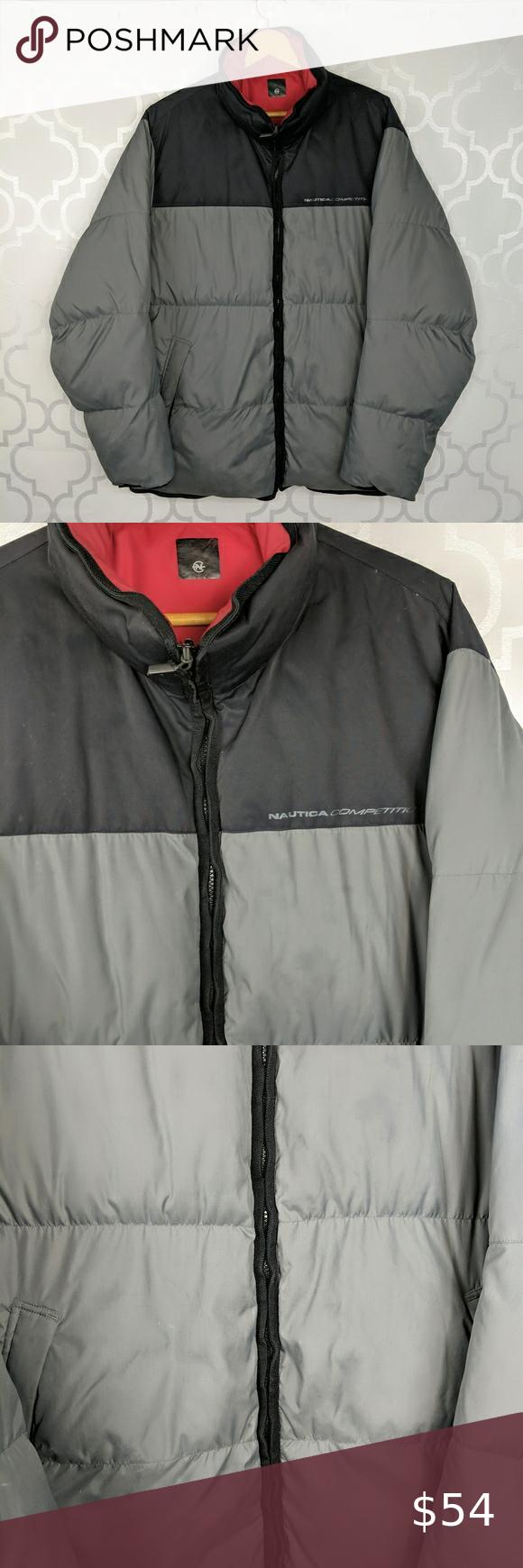 Nautica Reversible Insulated Puffer Jacket Puffer Jackets Grey Puffer Jacket Jackets [ 1740 x 580 Pixel ]