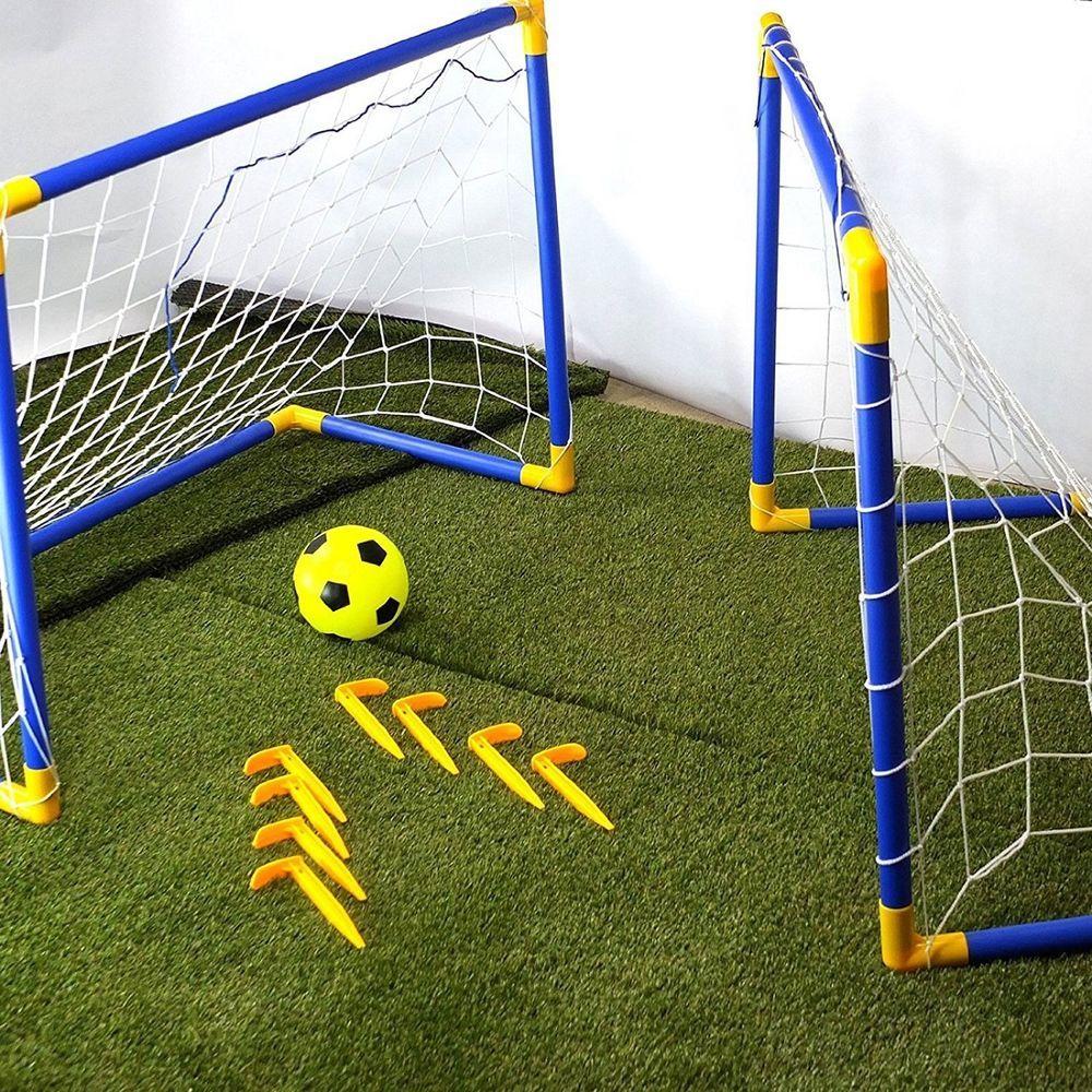 Kids Garden Football Goal Striker Outdoors Grass Playing Childs Sports Portable Costmad Soccer Goal Post Outdoor Toys For Kids Soccer Goal