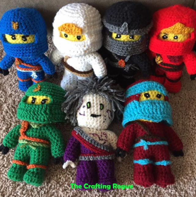 Lego Ninjago Pattern News | The Crafting Rogue | crochet stuff ...