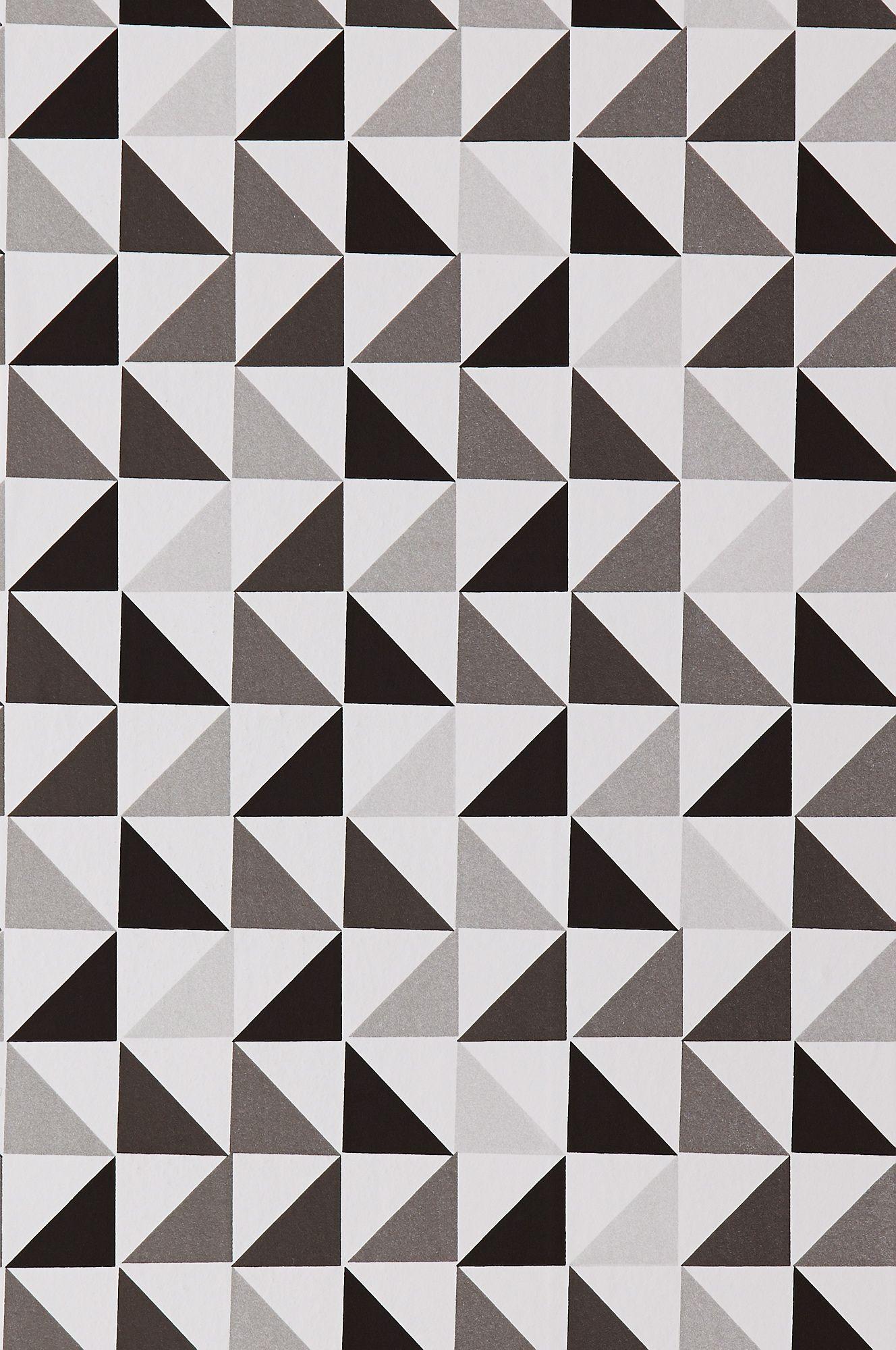 Wallpaper by ellos Bev-tapetti väreissä Harmaa kategoria Koti - Kuviolliset - Ellos